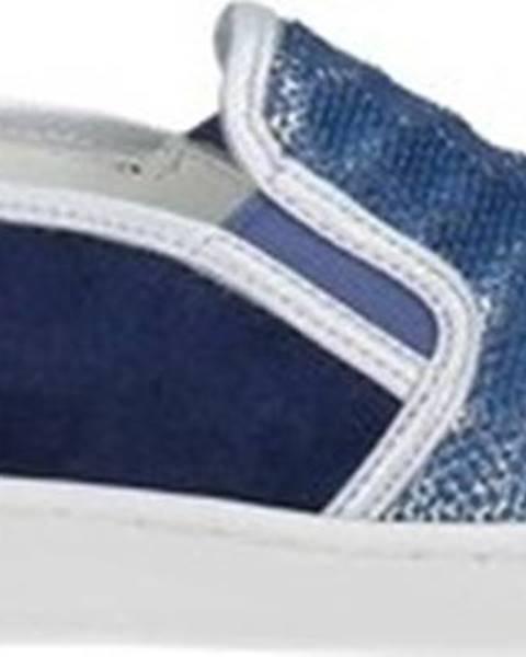 Modré boty Keys