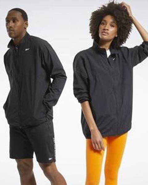 Černá bunda Reebok Sport
