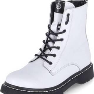 Kotníkové boty 112526925 100 Bílá