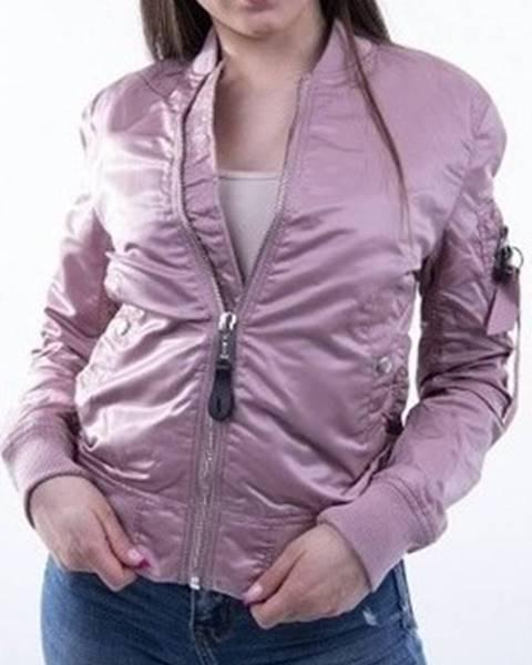 Růžová bunda Alpha