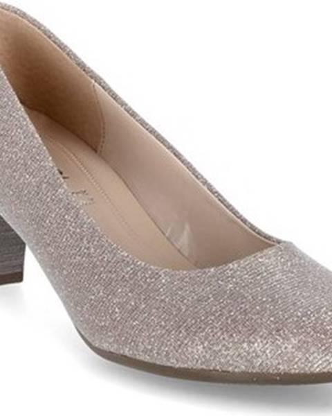 Růžové boty Gabor