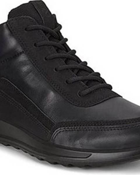Černé boty Ecco