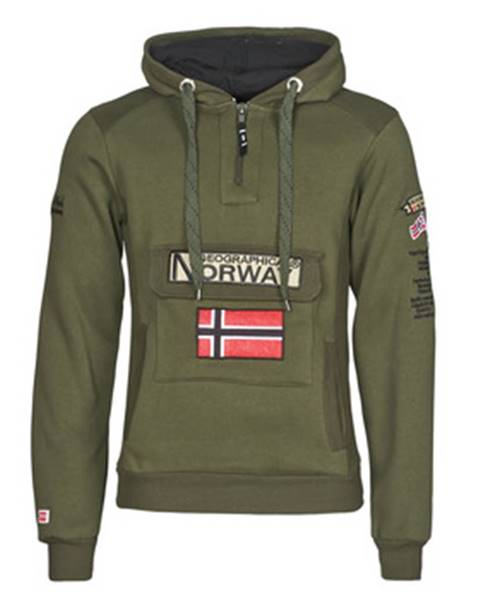 Khaki mikina Geographical Norway