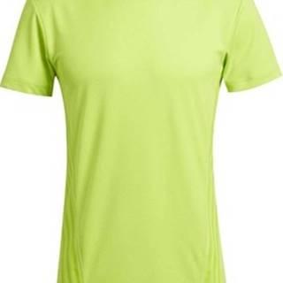 adidas Trička s krátkým rukávem Tričko AEROREADY 3-Stripes Zelená