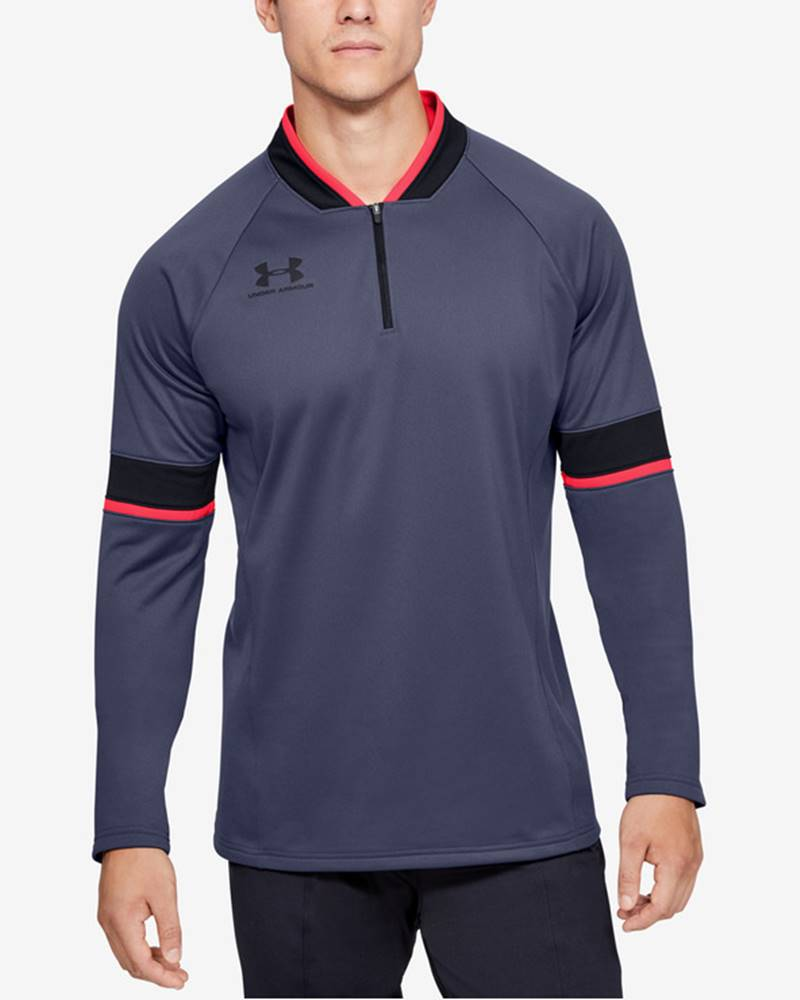 under armour Challenger III Midlayer Triko Modrá