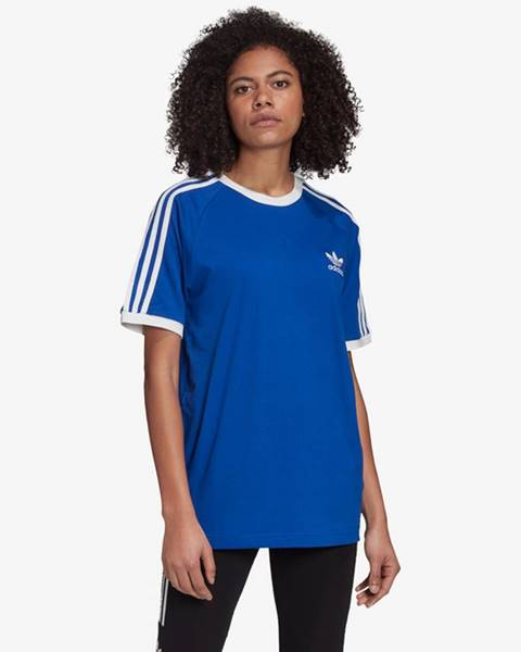 Modrý top adidas originals