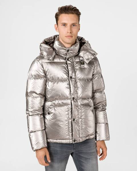 Stříbrná bunda Blauer