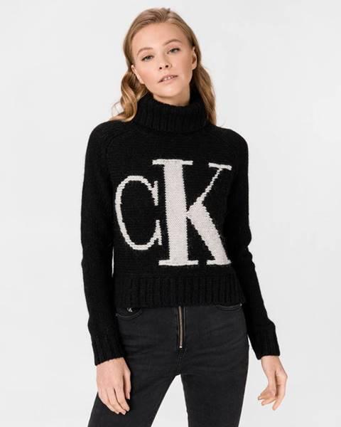 Černý svetr Calvin Klein