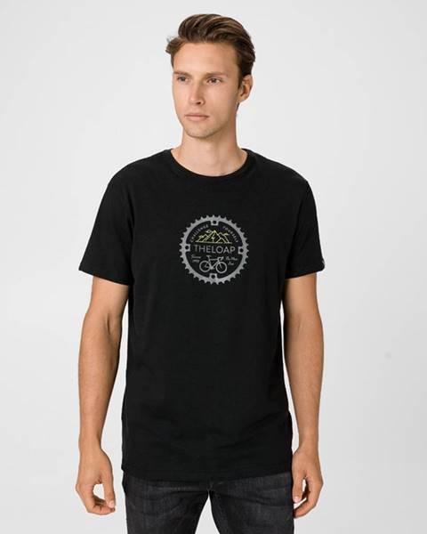 Černé tričko loap