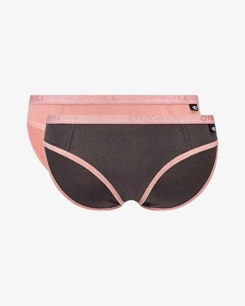 Růžové spodní prádlo o'neill
