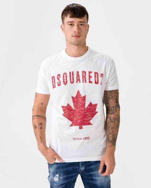 Bílé tričko DSQUARED2