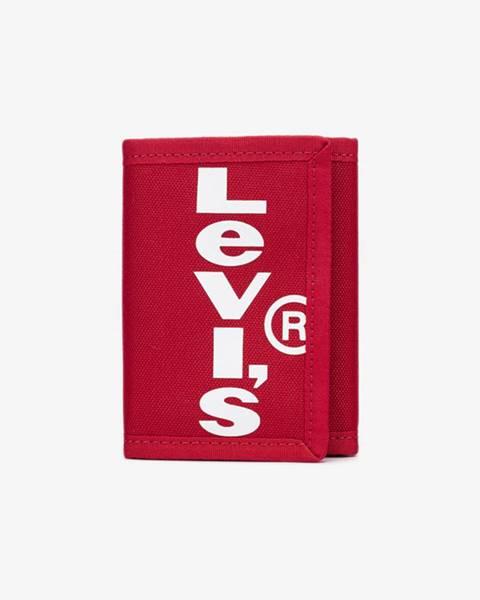 Červená peněženka levi's®