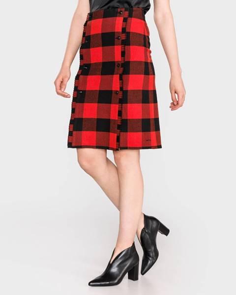 Červená sukně scotch & soda