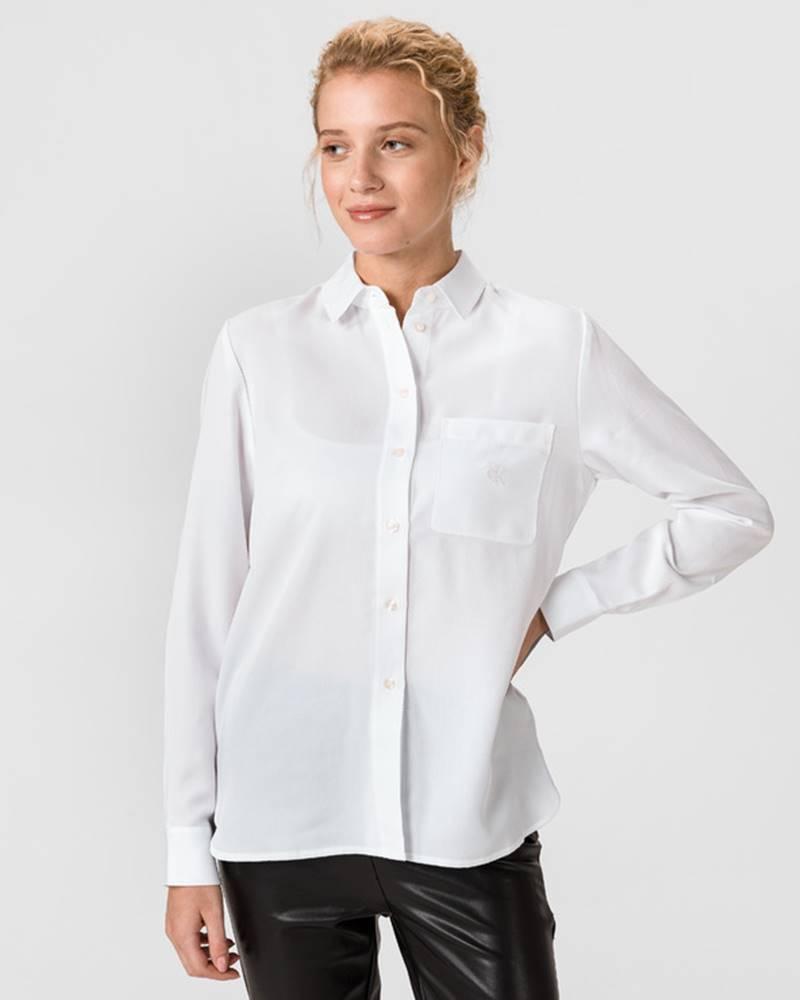 Calvin Klein Classic Twill Košile Bílá