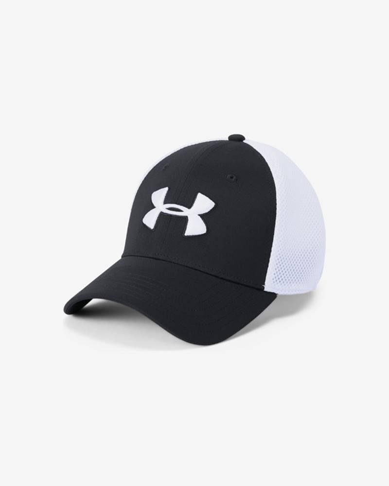 under armour Microthread™ Golf Kšiltovka Černá Bílá