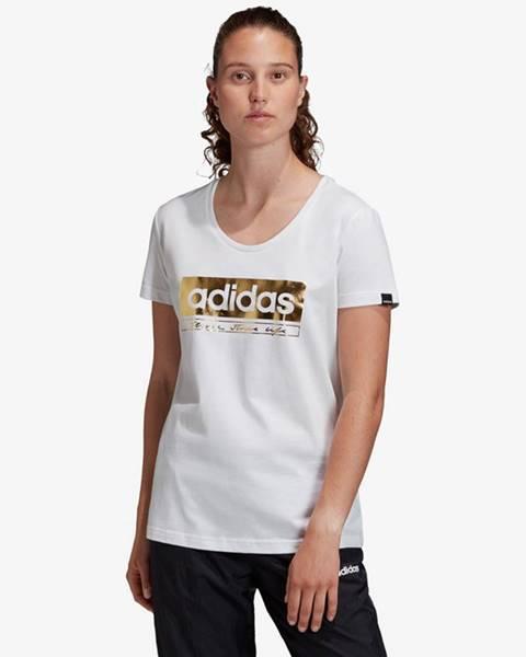 Bílý top adidas performance