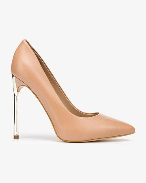 Béžové boty Guess