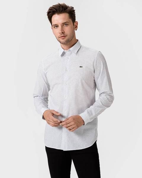 Bílá košile lacoste