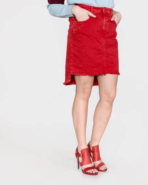 Červená sukně Replay