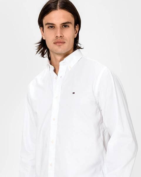 Bílá košile tommy hilfiger
