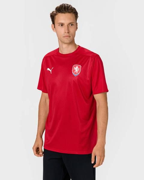 Červené tričko puma