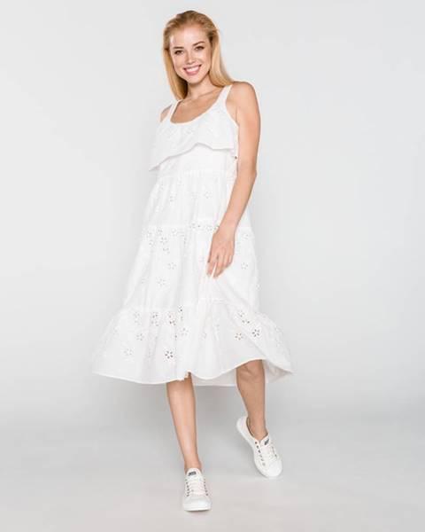 Bílá sukně Silvian Heach