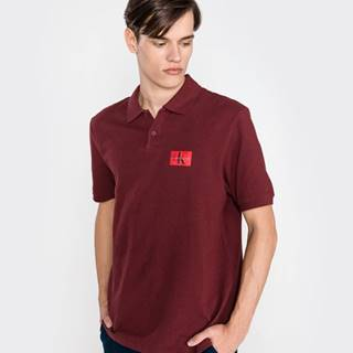 Polo triko Červená