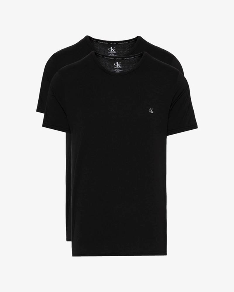 Calvin Klein Spodní triko 2 ks Černá