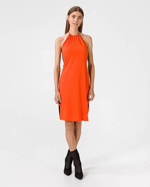 Oranžová sukně Diesel