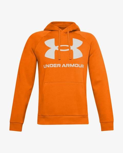 Oranžová mikina under armour