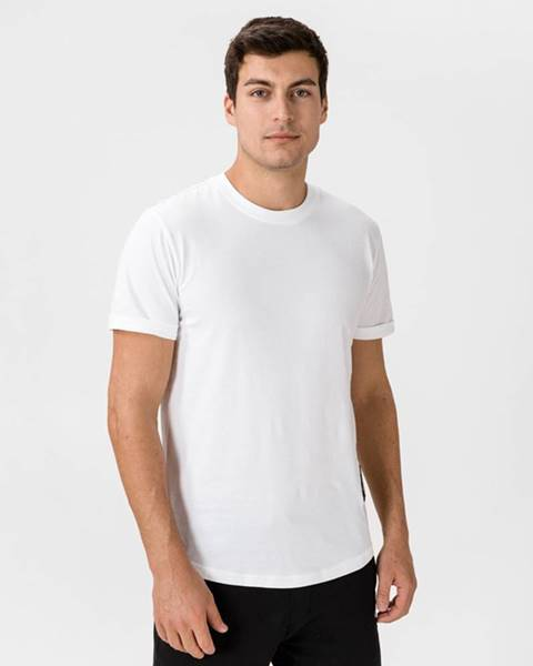 Bílé tričko Calvin Klein