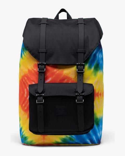 Vícebarevný batoh herschel supply