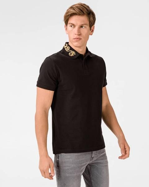 Černé tričko Versace Jeans Couture