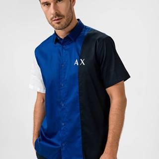 Košile Černá Modrá