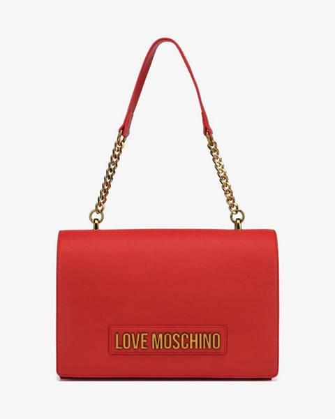 Červená kabelka Love Moschino