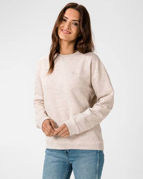 Béžový svetr pepe jeans