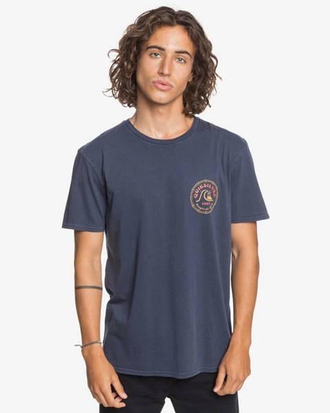 Modré tričko quiksilver