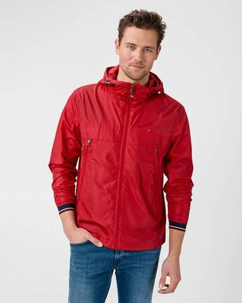 Červená bunda tommy hilfiger