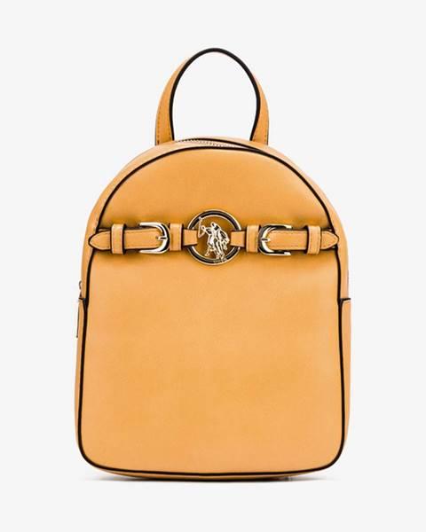 Žlutý batoh U.S. Polo Assn