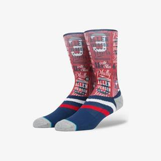 Iverson Stats Ponožky Modrá Červená