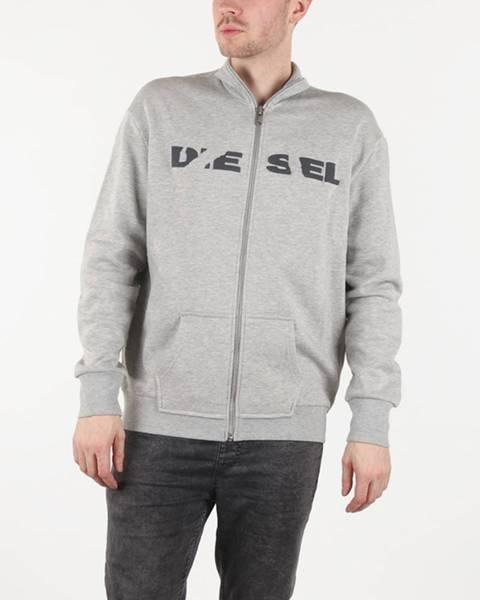 Šedá mikina Diesel