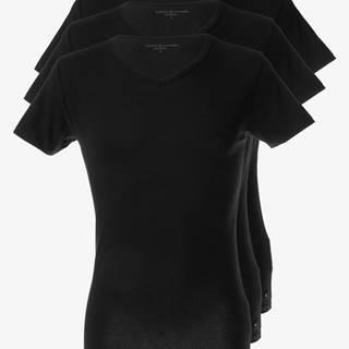 Spodní triko 3 ks Černá