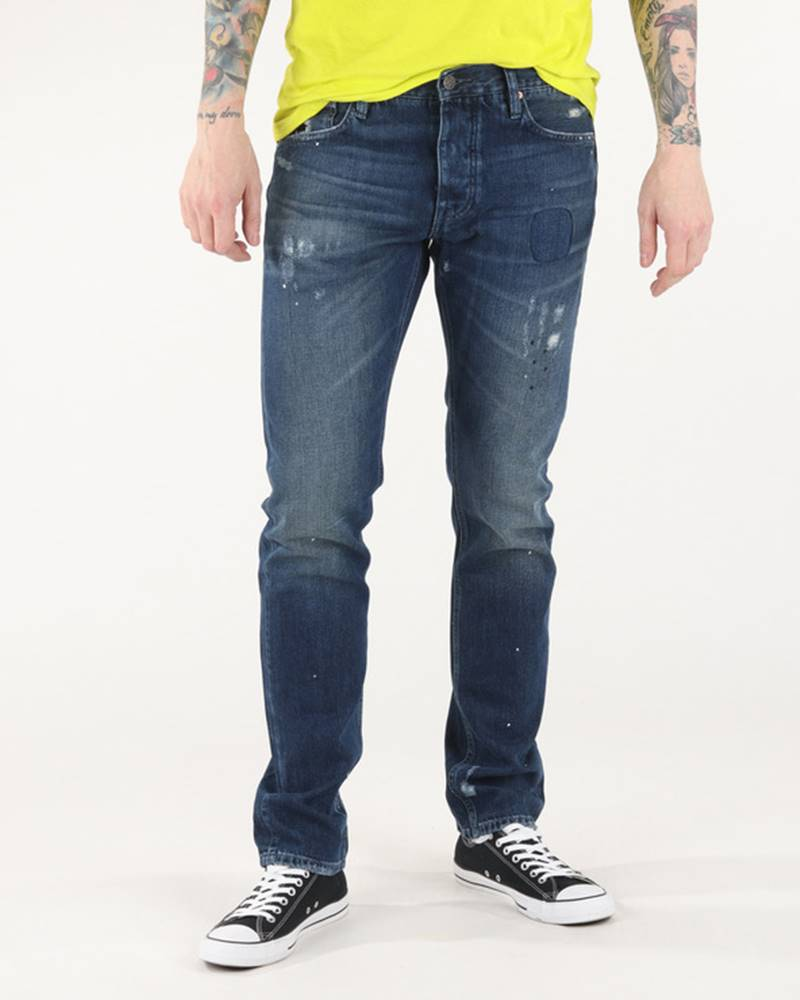 Rifle Jeans Modrá