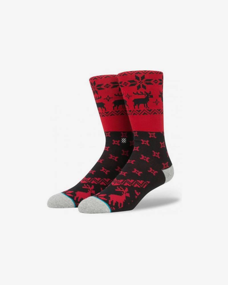 Stance Blitzn Ponožky Červená