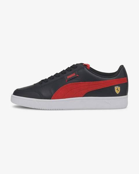 Černá červené tenisky puma