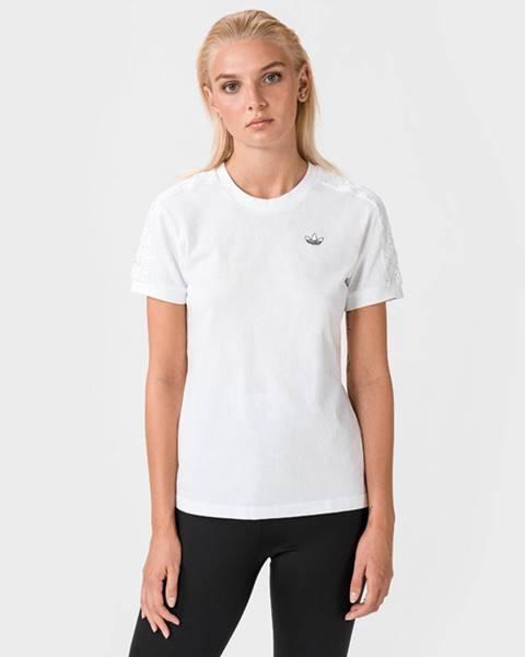 Bílý top adidas originals