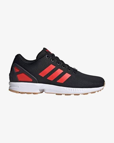 Černá červené tenisky adidas originals
