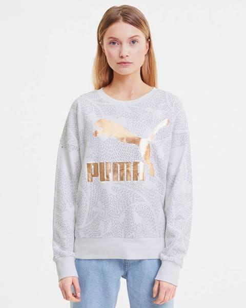 Bílý svetr puma