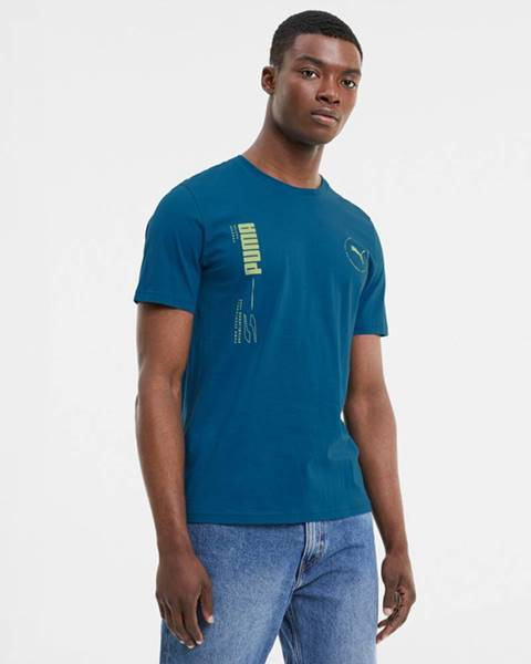 Modré tričko puma