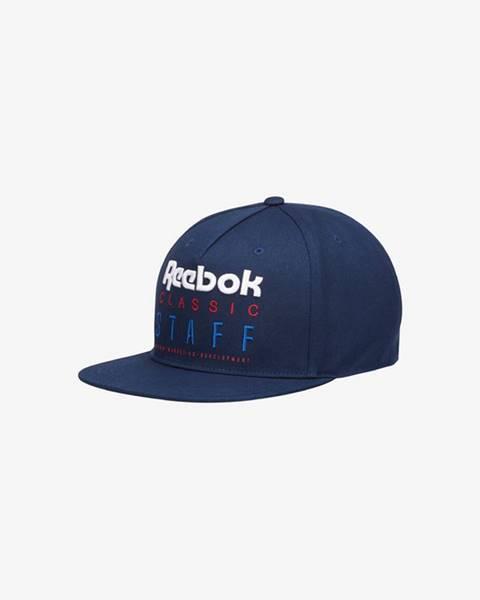 Modrá čepice reebok classic